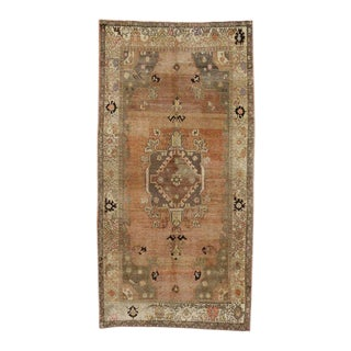 Vintage Turkish Sivas Rug with Modern Industrial Style