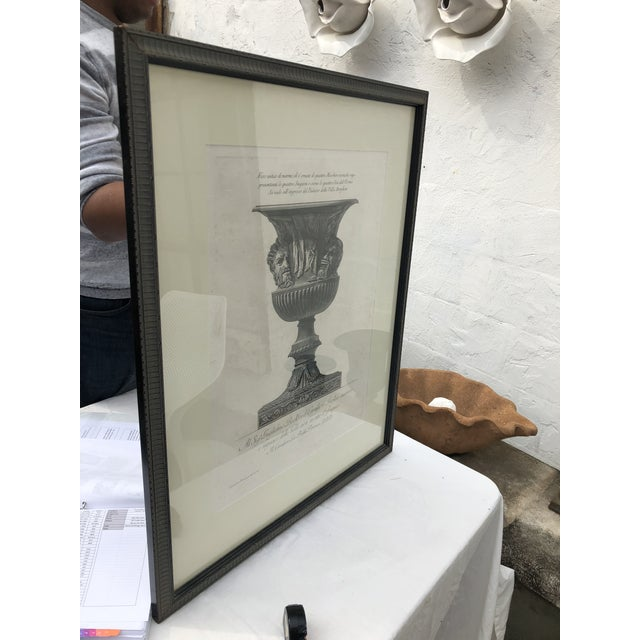 19th Century Piranesi Style Engraving of Urn Decorated With Four Seasons/Four Stages of Man For Sale - Image 10 of 13