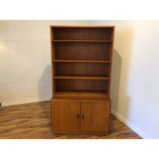 Borge Mogensen for Soborg Mobler Danish Teak Cabinet and Bookshelf For Sale - Image 11 of 11