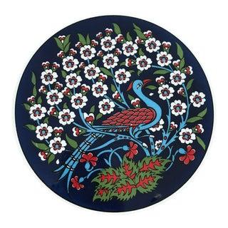 Turkish Handmade Ceramic Trivet For Sale