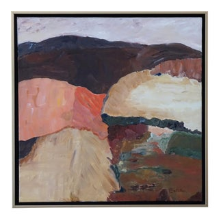 "Laurie MacMillan ""Back Country"" Abstract Landscape For Sale"