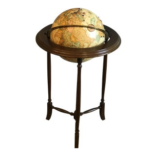 Vintage World Globe For Sale