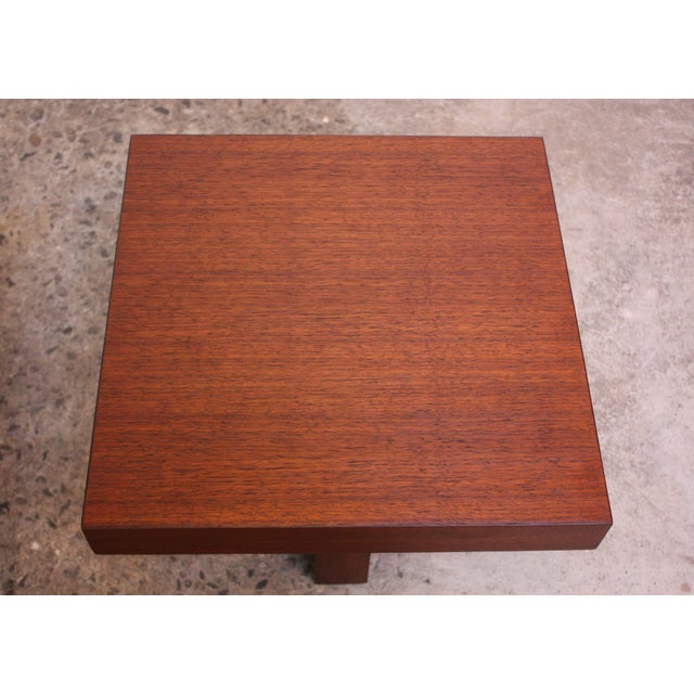Pair of Milo Baughman 'Cruciform' End Tables For Sale - Image 9 of 13