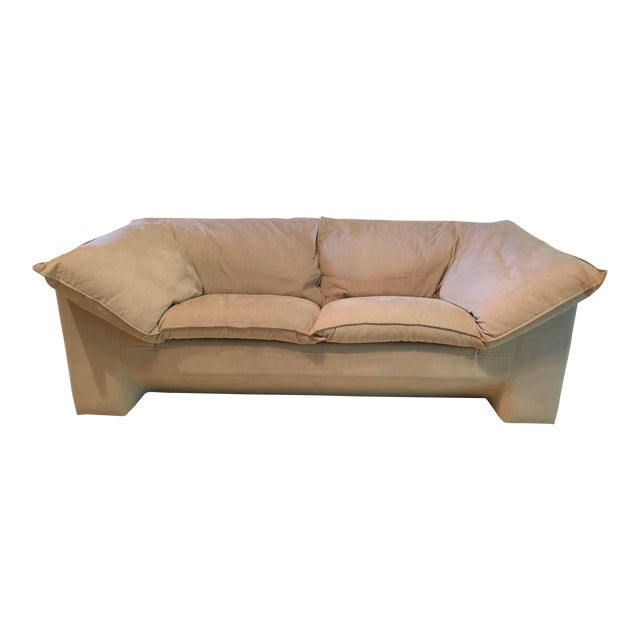 Vintage Danish Niels Eilersen Sofa -A Pair For Sale
