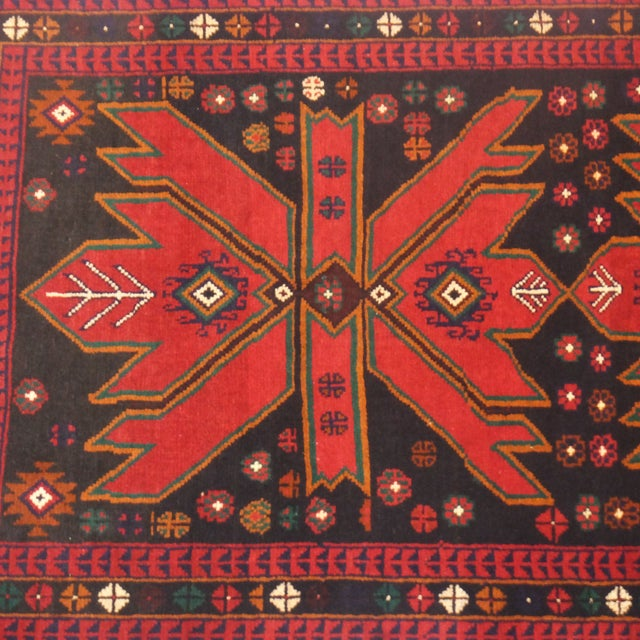 Patterned Baluch Rug - 3' x 5' - Image 3 of 5