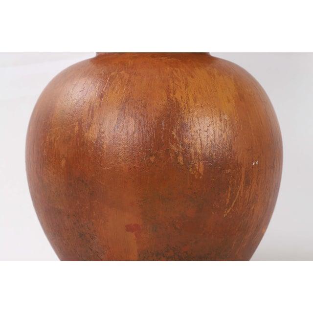 Asian 1980s Asian Double Gourd Porcelain Vase For Sale - Image 3 of 8