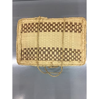 Boho Chic Woven Suitcase Trunk Preview
