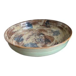 Wabi Sabi Style Studio Pottery Bowl by Ellen For Sale
