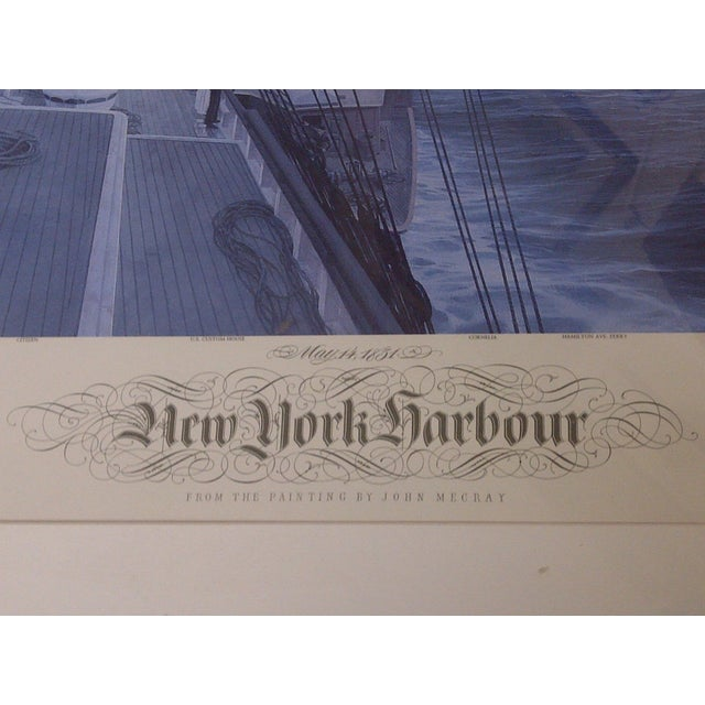 John Mecray New York Harbour Print, 1851 For Sale - Image 7 of 10