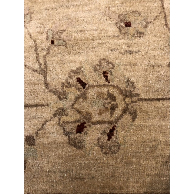 Muted Lovely Oushak Area Rug For Sale - Image 4 of 8