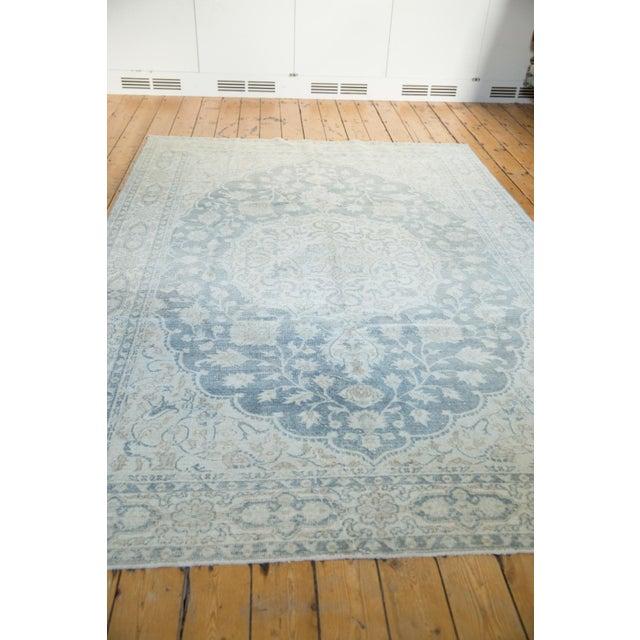"1960s Vintage Distressed Oushak Carpet - 6'6"" X 9'7"" For Sale - Image 5 of 13"
