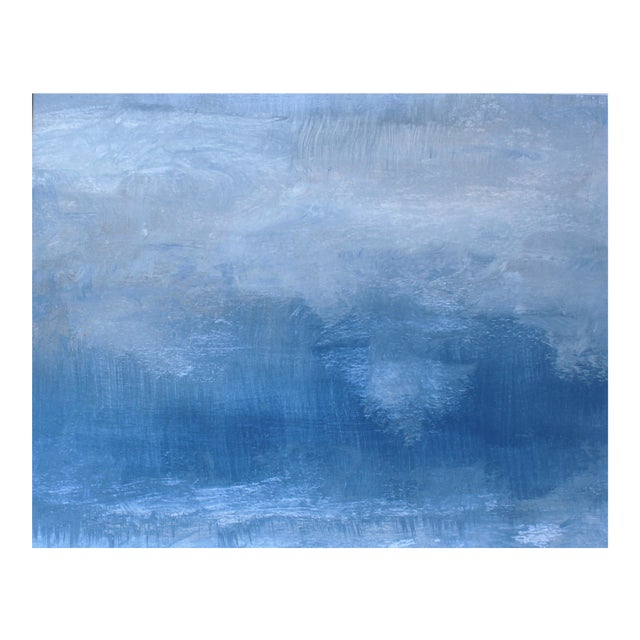 Rainstorm Modern Abstract Original Painting - Image 1 of 3