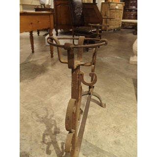 Antique One-Piece Cooking Andiron From France, Circa 1800 Preview