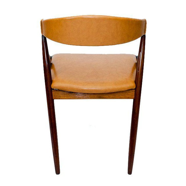Set of Six Rosewood Kai Kristiansen Chairs For Sale In Los Angeles - Image 6 of 9