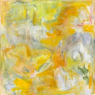 """""""Fly Away"""" by Trixie Pitts Large Abstract Expressionist Oil Painting For Sale"""