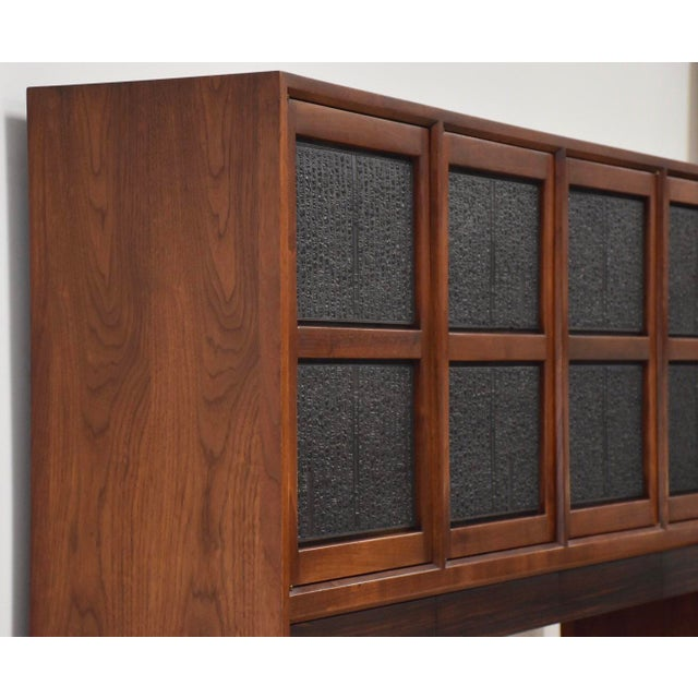 Asian Edward Wormley for Dunbar Janus Credenza For Sale - Image 3 of 13