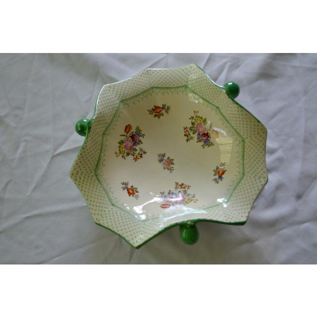 Vintage Japanese Floral Serving Dish - Image 2 of 5