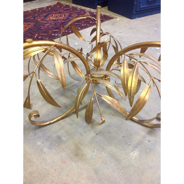 Hollywood Regency Gilt Coffee Table - Image 4 of 7