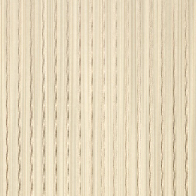 Schumacher X Simply Charming Sanford Strie Wallpaper in Bone For Sale