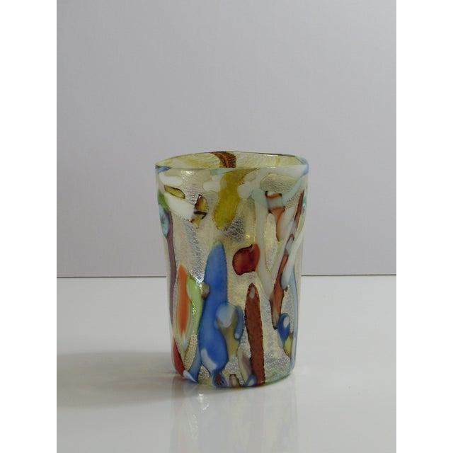 Custom Murano Drinking Glasses - Set of 6 For Sale - Image 4 of 9