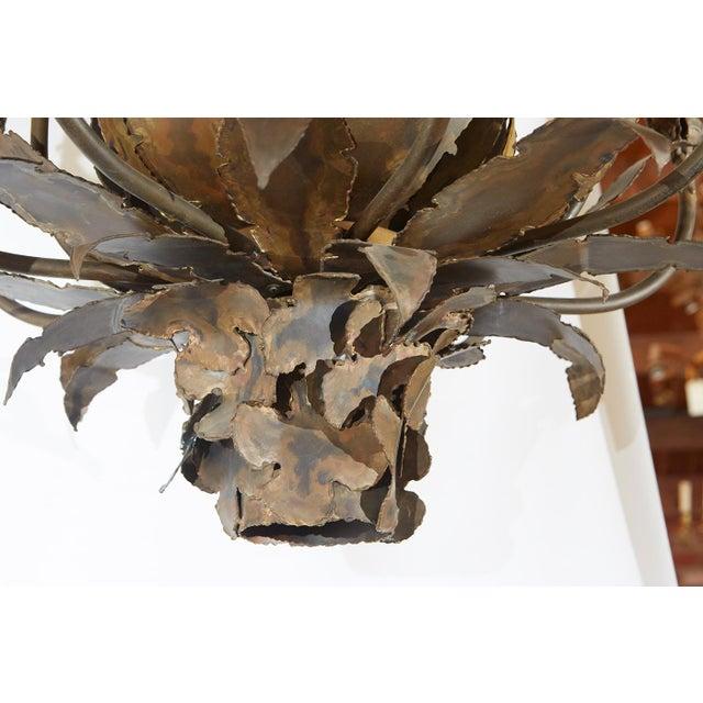 Tom Greene Brutalist Chandelier For Sale - Image 5 of 8
