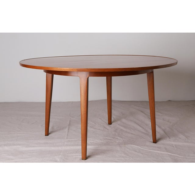 Bleached Mahogany Dining Table by Edward Wormley for Dunbar - Image 2 of 9