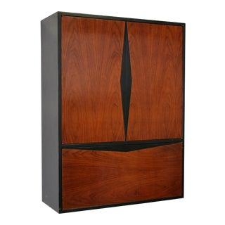 1960s Vintage Vladimir Kagan for Grosfeld House Floating Bar Cabinet For Sale