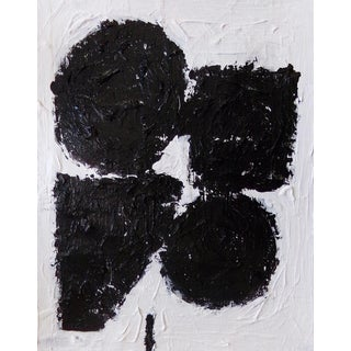 Abstract Painting - Original Black and White Contemporary Art For Sale