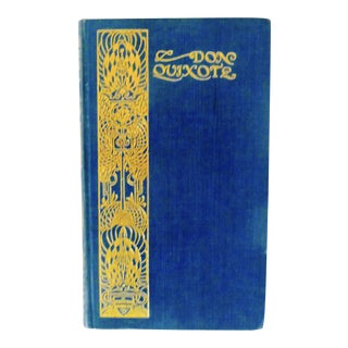 """Don Quixote"" Art Nouveau Book"