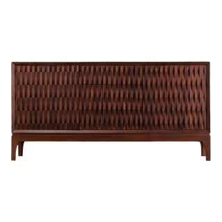 Ebb and Flow Pattern Credenza For Sale