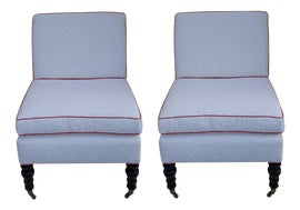 Image of Newly Made Slipper Chairs