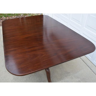 Henkel Harris Solid Mahogany Dining Table With Three Leaves Preview