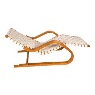 """1940s Vintage Model """"39"""" Alvar Aalto Chaise For Sale"""