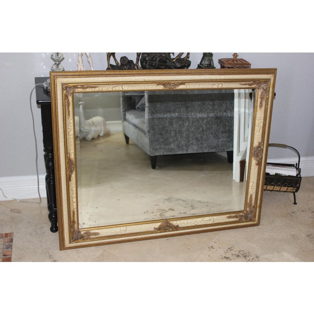 Antique FrenchCarved Gilt Mirror - Image 10 of 11