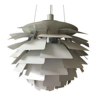 Poul Henningsen for Louis Poulsen Lighting White Artichoke Pendant For Sale