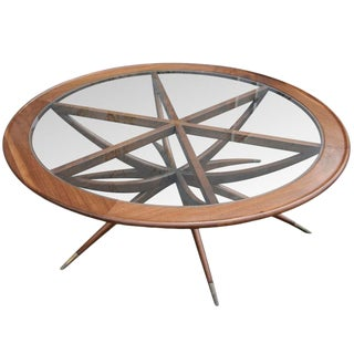 Adesso Imports Spider Leg Round Coffee Table For Sale