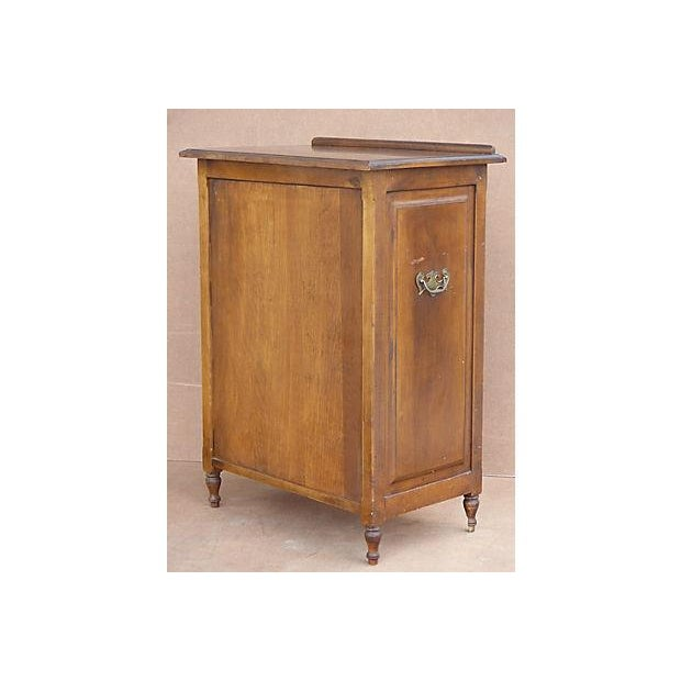 Traditional Vintage Adjustable Maple Wood Podium For Sale - Image 3 of 11