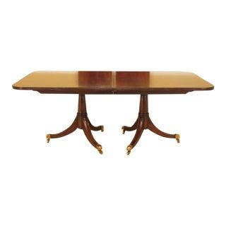 Duncan Phyfe Maitland Smith Figural Mahogany Table