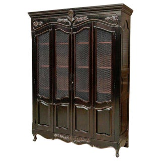 Harcourt Display Cabinet by Scott Thomas Furniture For Sale