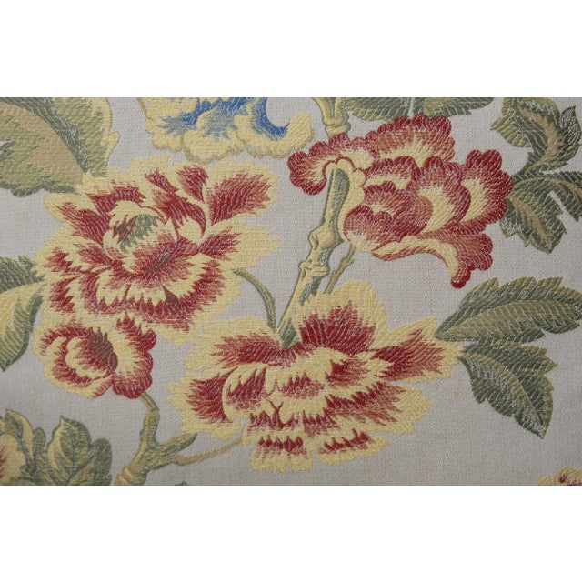 Italian Pr. Of Possible Italian Scalamandre Down Filled Pillows For Sale - Image 3 of 13