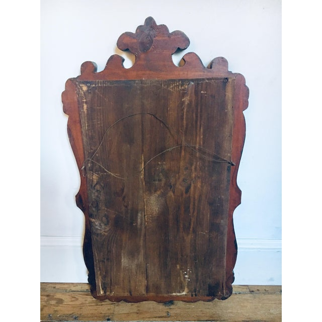 Antique Empire Style Vernacular Mirror For Sale In Baltimore - Image 6 of 7
