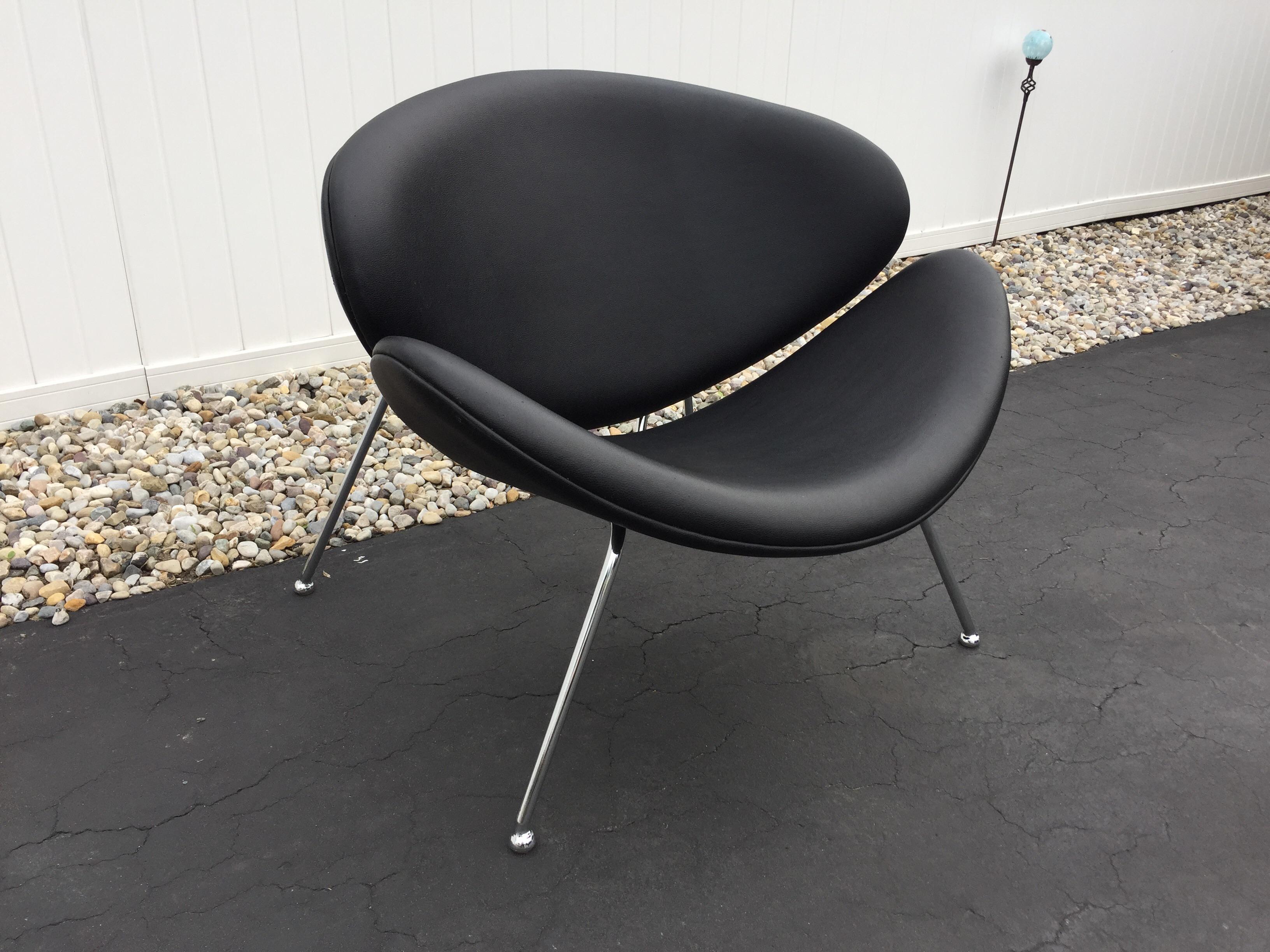 Mid Century Modern Mid Century Modern Pierre Paulin Slice Chair For Sale    Image