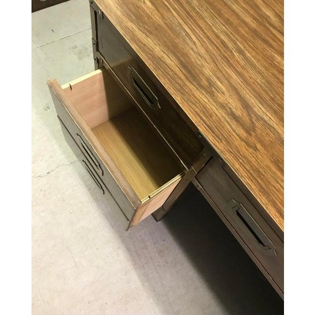 Bernhardt Bernhardt Campaign Executive Desk For Sale - Image 4 of 8
