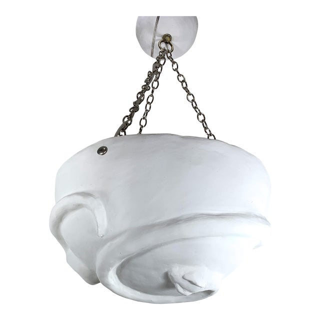 official photos ed176 2d39a Mid-Century Modern Plaster Stylized Snake Chandelier