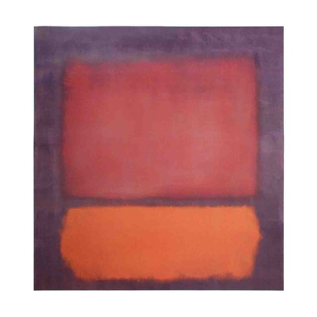 Untitled (1962) by Mark Rothko, 1998 Poster - Image 1 of 2