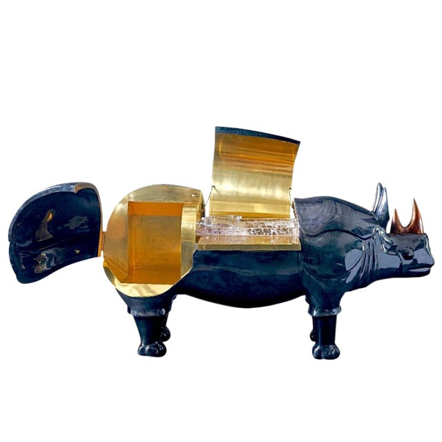 Rhinoceros Dry Bar For Sale