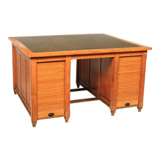 1930s Newspaper Office Partners Desk