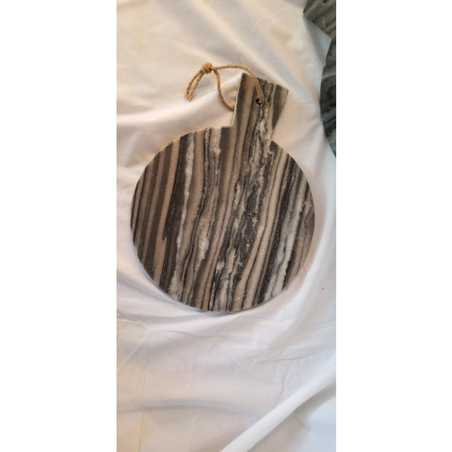 Black Marble Cheese Board For Sale In Austin - Image 6 of 6