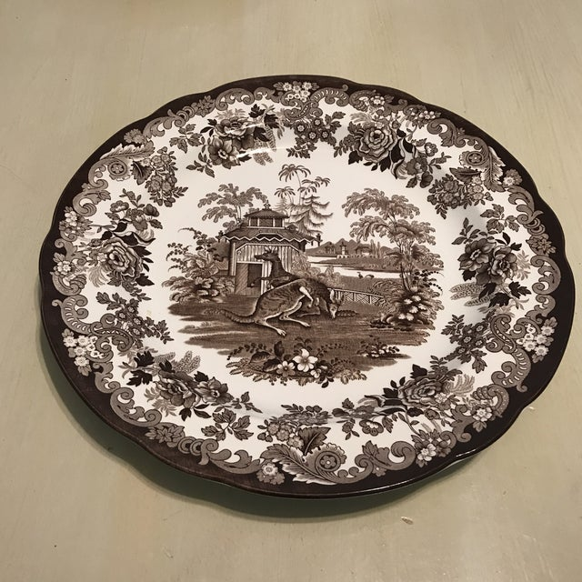 The Spode Archive Collection Plates - Set of 6 For Sale - Image 4 of 10