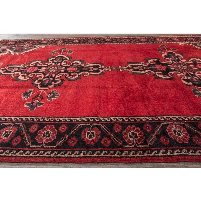 """Apadana - Vintage Persian Rug, 4'4"""" X 6'7"""" - Image 4 of 7"""